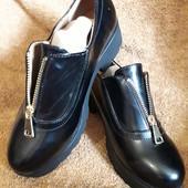 Туфли на среднюю и широкую ножку