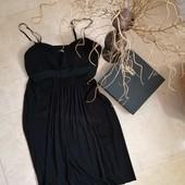 Чёрное миди платье вечернее