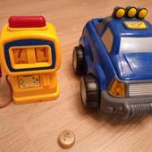 """Супер игрушка-Машинка инерционная с заправкой, звуковые эффекты"""""""" Silverlit"""