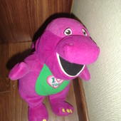 Прикольный мягкий динозаврик поет песенку я тебя люблю на английском