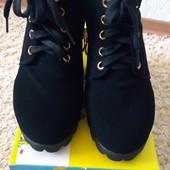 Деми ботинки Сток 40 размер 25 см стелька