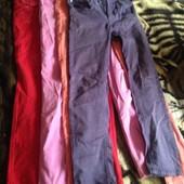 Распродажа гардероба! 4 джинс для девочки.