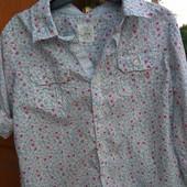 Стильна рубашечка H&m p.98 в ідеалі