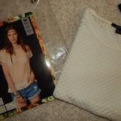 летняя вязаная футболка -сеточка  Esmara размер евро 40-42
