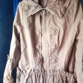 Куртка ( кожа) размер 52 смотрите описание