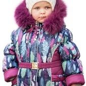 Зимний комбинезон для девочки, 92-104.
