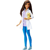 Mattel Кукла Барби Ветеринар - Barbie careers pet vet doll