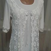 Белая блузочка.