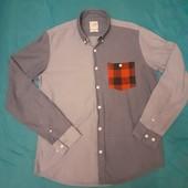 Стильная джинсовая рубашка Vailent Clothing, разм. М. 100% коттон. Сост. отличное!