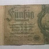 Бона Германии 50 марок 1933