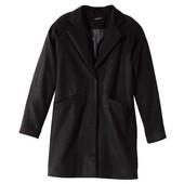 Брендовое крутое пальто бойфренд Esmara, оверсайз, из самых трендовых луков, черное. Размер на выбор
