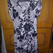 Платье 50-52, ткань масло