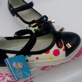 Туфельки для девочки 1 пара на выбор  р 34,35,37