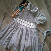 Платье в клеточку для вашей принцессы!!! Испания!!!