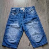 Джинсовые шорты на 8 лет в отличном состоянии