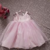 Стоп ! Дорогое очень красивое пышное фирменое платье  р