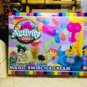 """Большой, музыкальный набор для лепки """"Фабрика мороженого"""". С подсветкой!"""