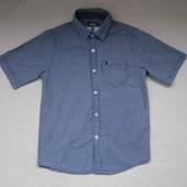 Легкая Рубашка Primark на 10-11лет, рост 146, 100%хлопок
