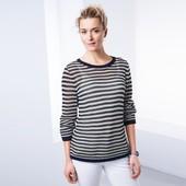 ☘ Стильный полосатый вязаный свитер от Tchibo(Германия), размеры наши: 54-56 (48/50 евро)