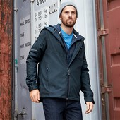 ☘ Качественная непромокаемая куртка, ecorepel, мембрана 3000, Tchibo,рр. наш: 56-58 (XL евро)