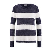 ☘ Теплый свитер в полоску  oversize от Tchibo(Германия), наши размеры: 50-54 (44/46 евро)