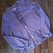 Новая рубашка,модный фасон,см.замеры