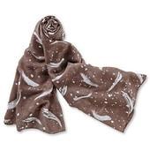 Нежная стильная шаль ТСМ Чибо (германия) размер 95 x 200 cm