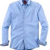 Тонкая котоновая рубашка Olymp(Германия).