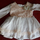 Платье на 6-9мес