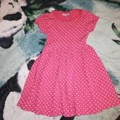 Милое платье. Хлопок на возраст 6лет, в отличном состоянии
