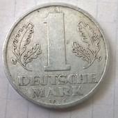Монета Германии 1 марка 1956