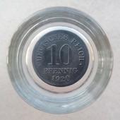 Монета 10 пфеннигов 1920 года, Германия.