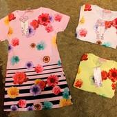Последне!!!! Красивое, яркое платье на девочку 116 р. Розовое