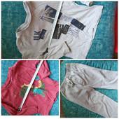 Два реглана и спортивные штаны для мальчика 4-5 лет