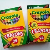 Crayola 48 шт восковые карандаши оригинал. Собирайте лоты!