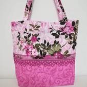 Яркая, легкая практичная сумка!