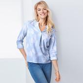 ✿Воздушная блуза-рубашка, Tchibo Германия, 46 евро=52-54 наш