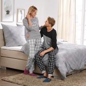 Стильная мужская пижама ,брюки фланель Livergy размер М