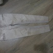 Зауженные под винтаж катоновые штаны.ПОБ-51-57см. Гарн.стан.