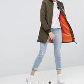 Удлиненная стеганая куртка‑пилот бомбер Brave Soul (M -L )