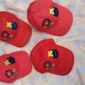 Бейсболки детские, хлопок, ог.52-54