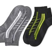 ✿Лот 2 пары! Функциональные спортивные носки от Tchibo(Германия), 39-42