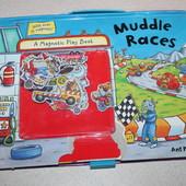 книга с магнитами Muddle races