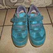 Кожаные кроссовки суперфит горе тех в хорошем состоянии, стелька - 22см