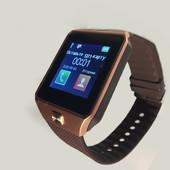 Умные смарт часы Smart watch DZ09 ( беж)