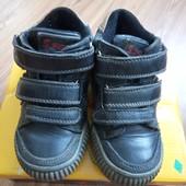 Кожаные демисезонные ботиночки, 26 размер - 17 см стелька