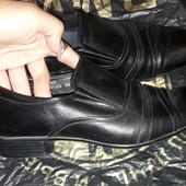Туфлі шкіра р.39