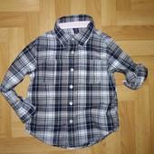 ❤️ Классная рубашка по бирке на 3 года от babyGap. Состояние отличное!