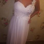 Свадебное выпускной платье рр 46-50