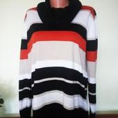 Шикарнейший свитер весна-осень Люксовый сток эксклюзив